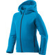 Houdini Kids Power Houdi Jacket hodde blue